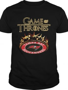 Game of Thrones Tampa Bay Buccaneers mashup shirts