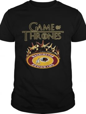 Game of Thrones Washington Redskins mashup shirts