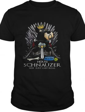 Game of bones house schnauzer shit just got real shirts