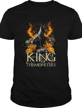 Godzilla King of the monster Game of Thrones shirts