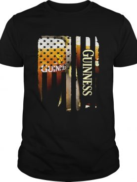 Guinness America flag shirts