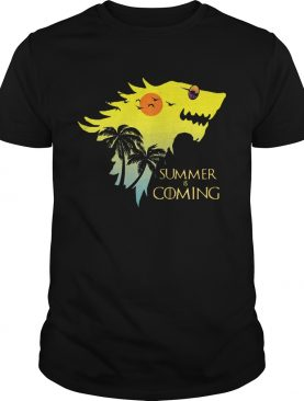 House Stark summer is coming Game of Thrones shirts