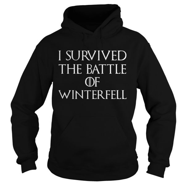 I survived the battle of Winterfell GOT hoodie