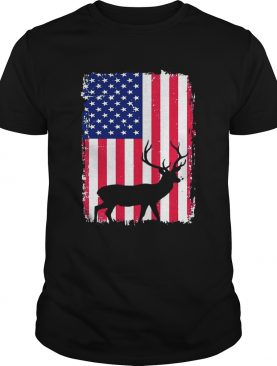 Independence Day Hunting American Flag Shirts