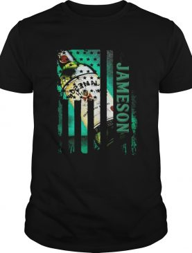 Jameson whisky Independence Day American flag shirts