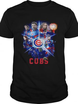 Love both Chicago Cubs and Avengers Endgame shirts