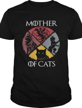 Mother of cats vintage Game of Thrones shirts