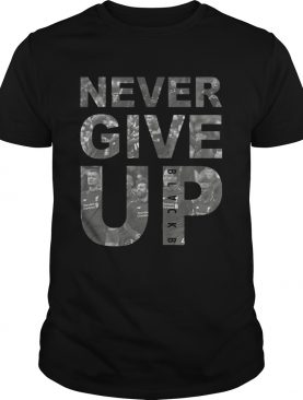 Never Give Up BLACKB Liver Team T-shirts