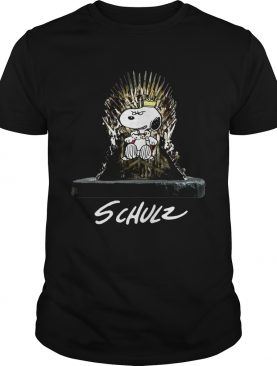 Snoopy King Schulz Game of Thrones shirts