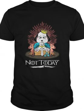 Snoopy Not Today GOT shirts