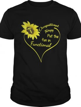 Sunflower Occupational therapy put the fun in Functional shirts