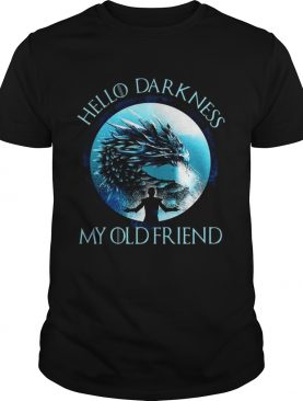 The Night King hello darkness my old friend shirts