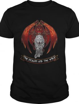 The dragon and the wolf Game of Thrones shirts