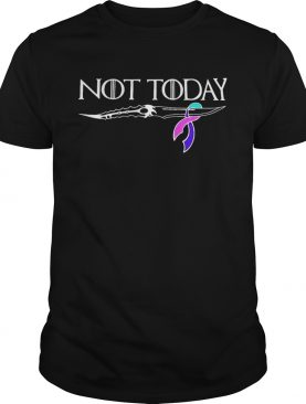 Thyroid cancer not today Game of Thrones shirts