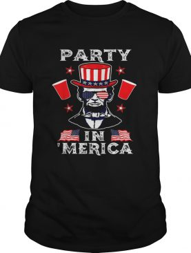 4th Of July Abraham Lincoln Party In Merica Independence Day shirt