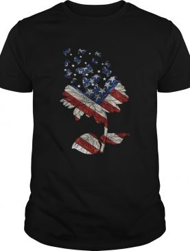 4th Of July Independence Day Flower Shih Tzu Dog shirt