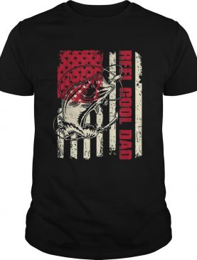 Awesome Reel Cool Dad Fathers Day American Flag shirts