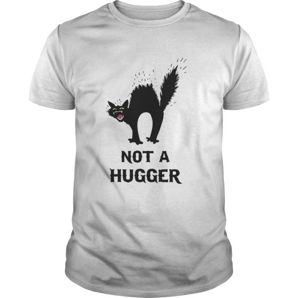 Black Cat Not A Hugger unisex