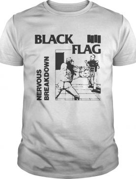 Black Flag Nervous Breakdown shirt
