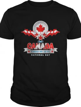 Canada Day Gifts To Celebrate Your Special Day Shirt