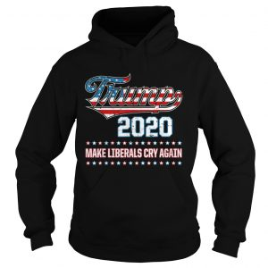 Donald Trump Election 2020 Make Liberals Cry Again GOP hoodie