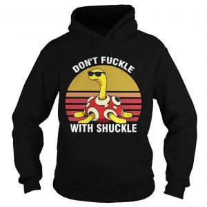 Dont fuckle with shuckle vintage sunset hoodie