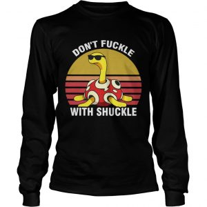 Dont fuckle with shuckle vintage sunset longsleeve teev