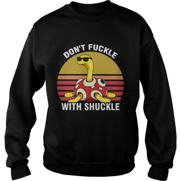 Dont fuckle with shuckle vintage sunset sweatshirt