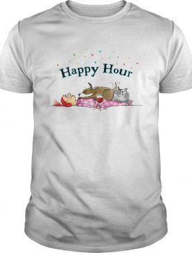 Happy hour Red and Howling shirt