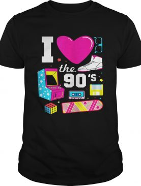 I Love The 90s Vintage 1990 shirt
