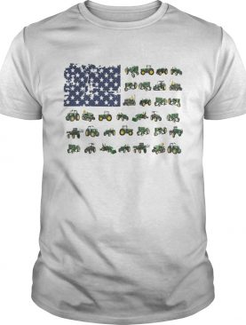 Independence Day American Flag Jeep Shirts