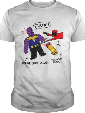 Infinity Doodle Deadpools doodle me the power glove and purple shirt