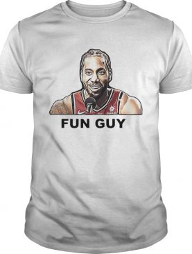 Kawhi Leonard Fun guy shirt
