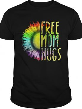 LGBT Sunflower free mom hugs shirt