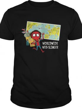 Marvel Spiderman Far From Home Map shirt