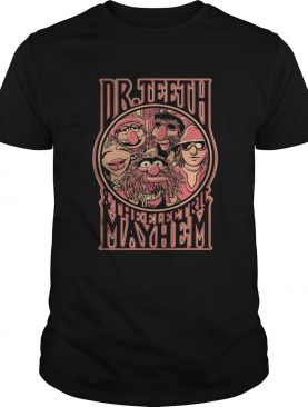 Muppets Show Dr Teeth and the Electric Mayhem shirt