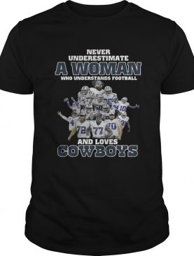 Never underestimate a woman who understands football and loves shirt