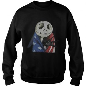 Nightmare Jack Skellington America flag sweatshirt