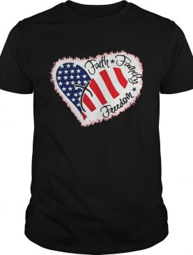 Official Faith Familly Freedom American Flag Shirt