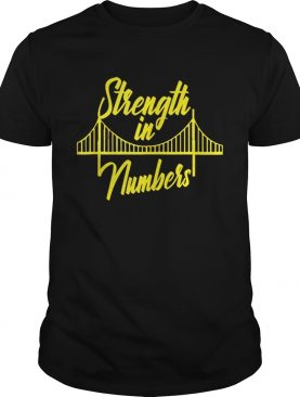 Official Golden State Warrior Strength In Numbers Shirts