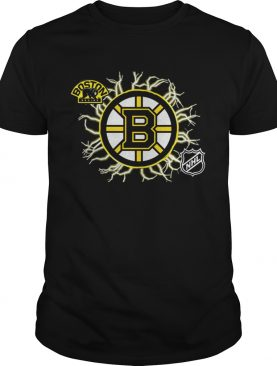 Original Boston Bruins Graphics NHL Hockey Shirt