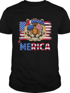 Original Funny Hanging With Tiger Mom Merica 4th July Shirt