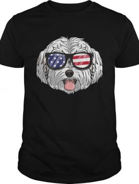 Original Maltipoo Dog Patriotic USA 4th Of July American Shirt