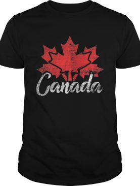 Premium Canada Flag Maple Leaf Canada Day Shirt