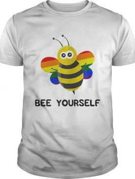 Rainbow Bee LGBT And Gay Pride Shirt