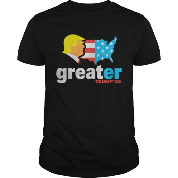 Trump make America greater 20 unisex
