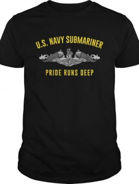 US Navy Submariner Pride Runs Deep shirt