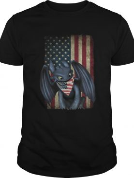 4th Of July American Flag Toothless Shirt