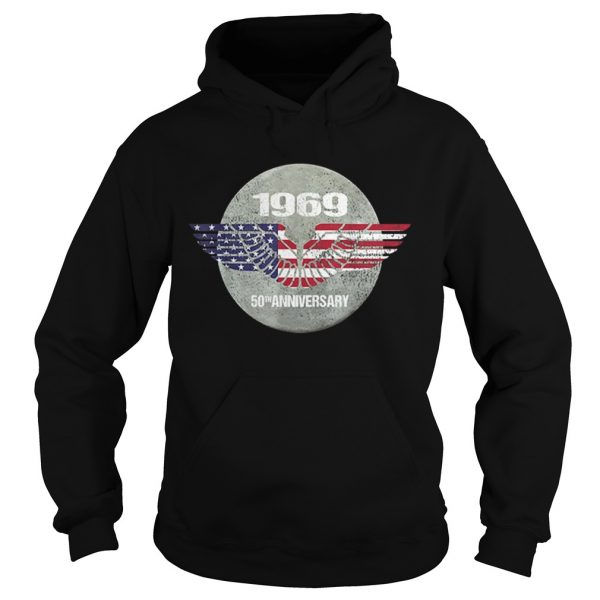 Apollo 11 Moon Landing 50th Anniversary American Proud hoodie