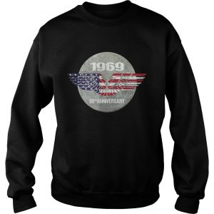 Apollo 11 Moon Landing 50th Anniversary American Proud sưeatshirt